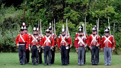 1812 reenactment